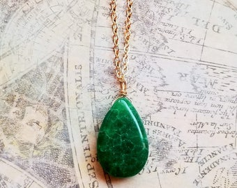 Gemstone Fine Necklaces & Pendants 845.00 Cts Earth Mined 3 Strand Green Emerald Carved Beads Necklace Big Deal