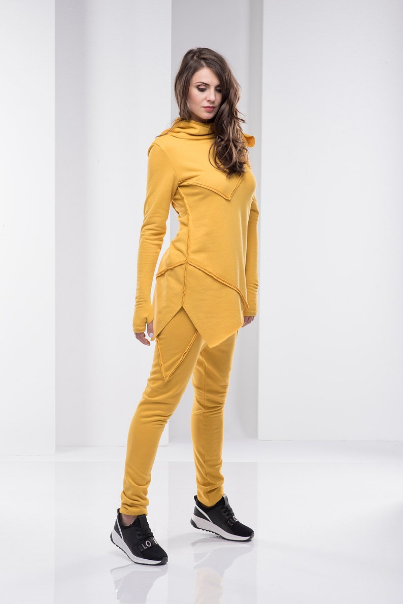 Long Sleeve Top Mustard Yellow Top Plus Size Clothing Elegant Top High Neck Top Casual Yellow Top,Activewear Top Mustard Yellow Blouse