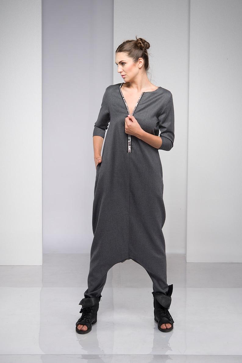 2d9e2336 Jumpsuit Women Wool Jumpsuit Plus Size Clothing Winter image 0 ...