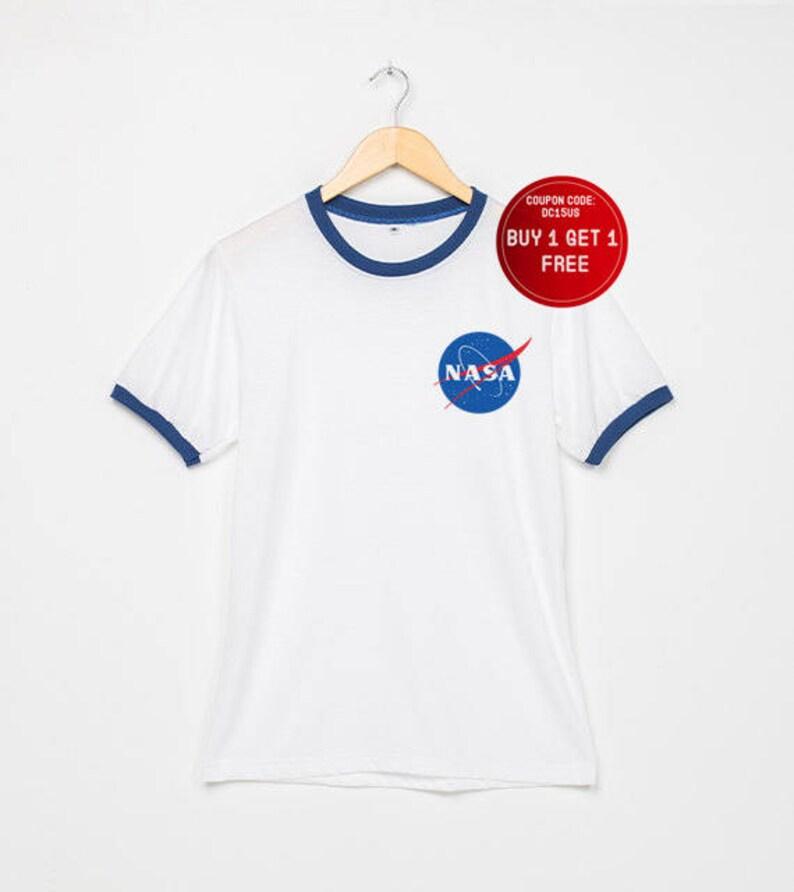 Tasca Tshirt T TeeEtsy Camicia Ringer Nasa Donna Shirt zMqVLSUpG