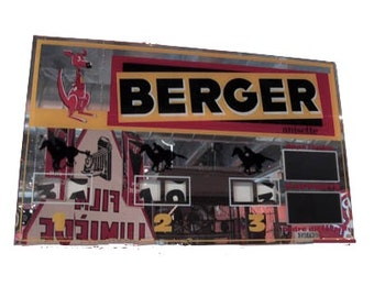 "Antique French ""Berger"" Advertising Sign"
