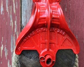 Vintage Cast Iron, Wooden MYERS, O.K. Barn Pulley H-298