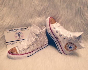 b4b615563805d1 Toddlers Pearl   Bling Converse