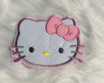 Cute Kitty Face Patch