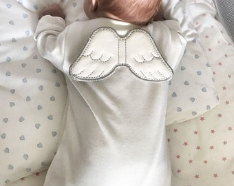 929e3534efa Angel wings Baby clothes