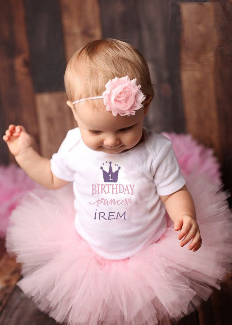 2fc8890e8 First Birthday Tutu Outfit   Baby Girl Clothes 1 Year Old