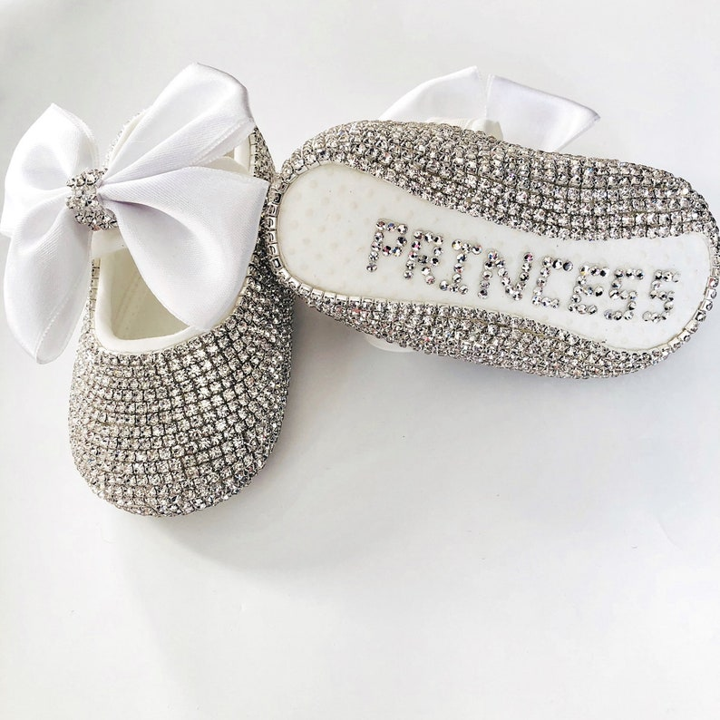 Baby Girl Shoes Personalized Catholic Baptism Gift From  4b3f6ae6b1b4