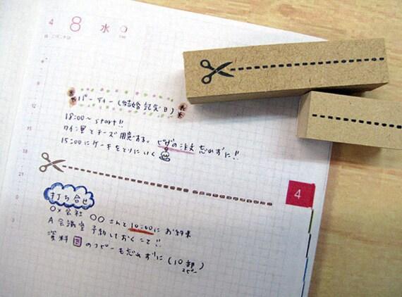 Planner stamps,planner stamp,Hobonichi,erin condren,filofax,kikki k,travelers notebook,stamps,Nail