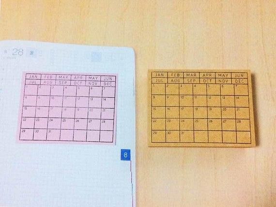 Planner stamp to do list check list stamp box motif erin condren stamps planner supplies filofax list stamp to do stamp hobonichi