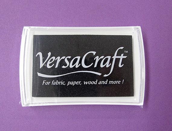 japan import VKS 182 Tsukineko Stamp Pad Versa Craft S Realistic Black