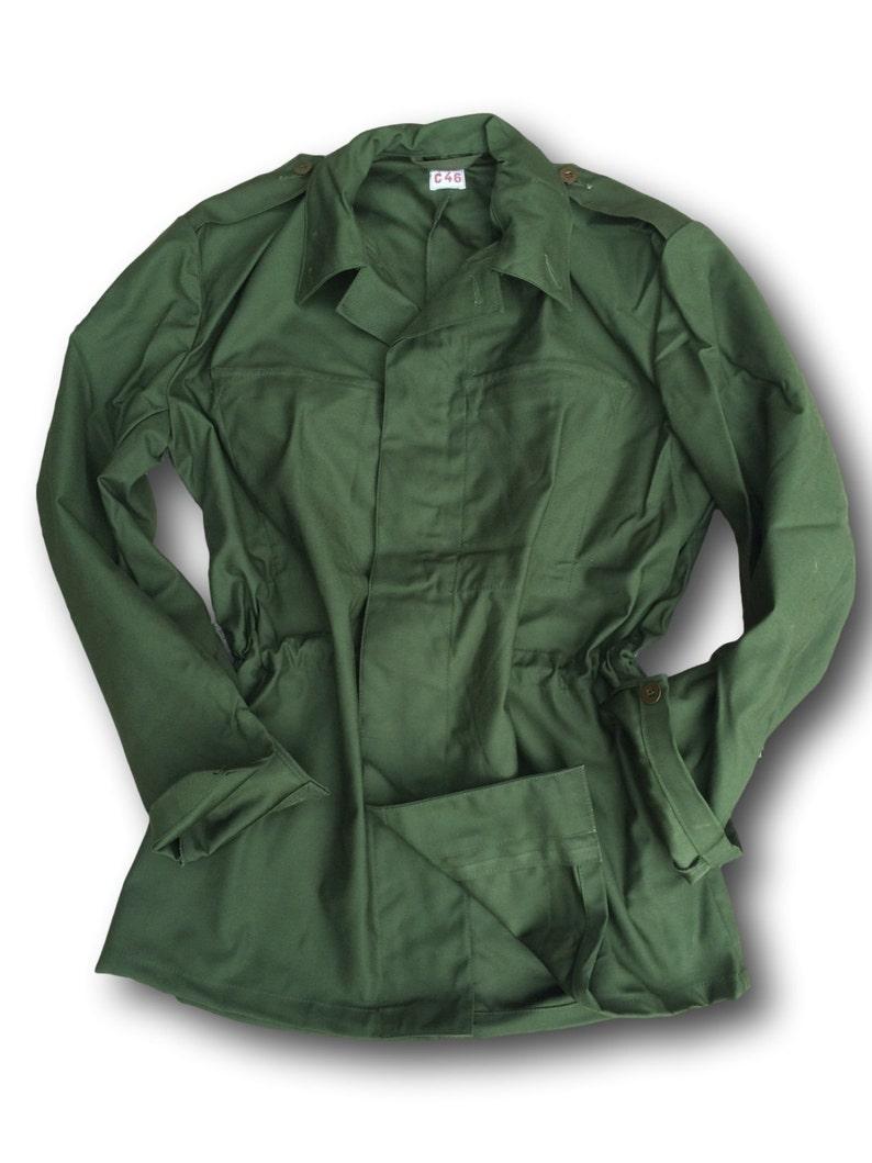 f0fbdd87a Army Bdu,M84 Plain Lightweight Ladies Chore Jacket, Fatigue Jacket, Artisan  Jacket