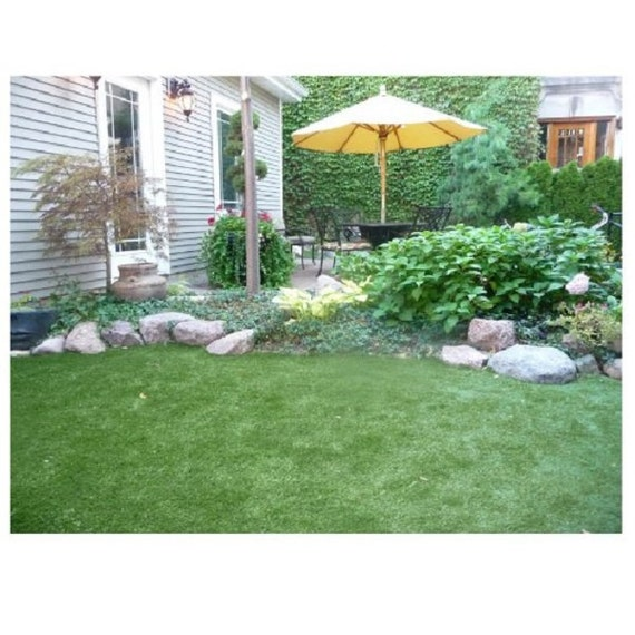 1 5 Artificial Grass Turf Indoor Outdoor Rugs Etsy