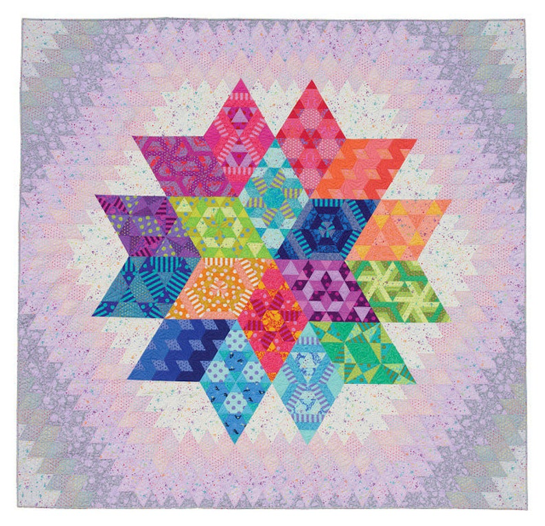 Jaybird Quilts Nebula Block of the Month Quilt PATTERN ONLY JBQ178