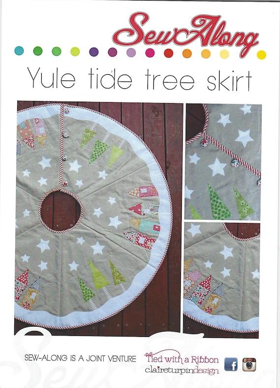 Nähen Sie entlang Yuletide Baum Rockmuster nur Weihnachtsbaum | Etsy