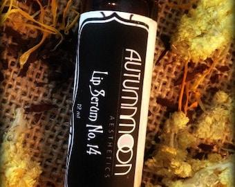 LIP SERUM NO. 14™ // Botanical Lip Elixir, Historical, Renewing, Lip Oil, Rosehip Oil, Lip Rouge, Lip Stain, Lip Tint