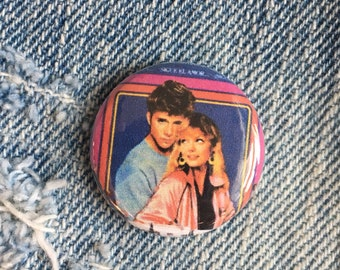 Grease 2 button, movie button, 1 inch pin back button
