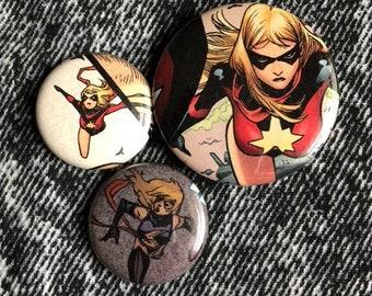 comic pin sets
