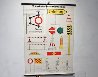 Ticket GDR road signs map Picture 5