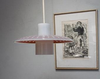 Design hanging lamp lamp 50s 60s lamp DDR Lamp GDR green white