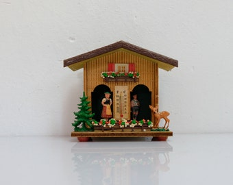 Weather house GDR Weatherhouse Plastic 80s
