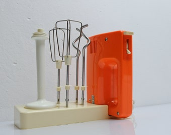 Rg 28s Hand Stirrer Made in Gdr Mixer Orange