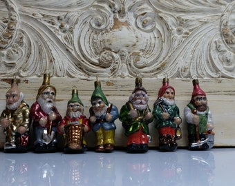 7 Dwarfs Christmas Ball Tree Ornament Christmas Ornament Angel Lauscha 3