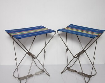 Folding stool Camping chair Angler stool GDR