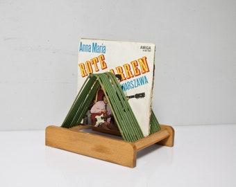 Record Holder LP Photo Holder GDR 60s Vinyl upcycling 2