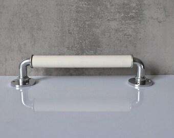 Alu Handle Holder Handholder Bathroom Kitchener Old Hook Vintage Handle 3