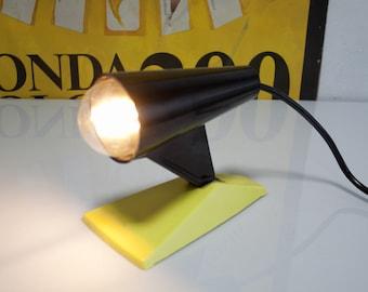 Bakelit desk lamp 70s 80s lamp work lamp red light lamp upcycling VEB