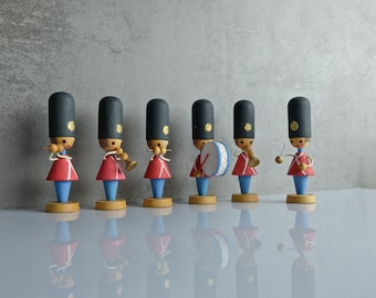 Chapel Orchestra figures from the 70s handmade ore mountains GDR
