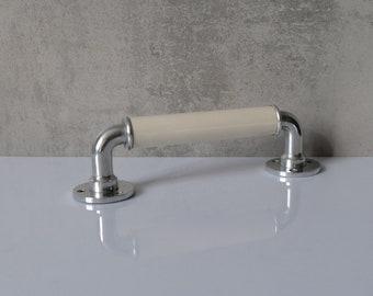 Alu Handle Holder Handholder Bathroom Kitchener Old Hook Vintage Handle 2
