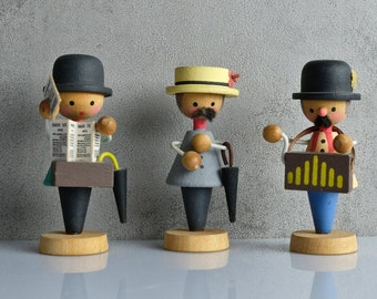 Chapel Orchestra figures from the 70s handmade ore mountains Vero GDR 3