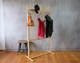 Wardrobe Coat Hook Ballroom 40s Iron Industrial