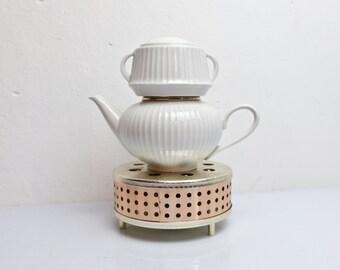 Stövchen Tea Coffee 60s GDR 1