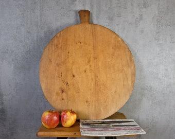 round cake board cutting board cheese board wooden board old 20er 2