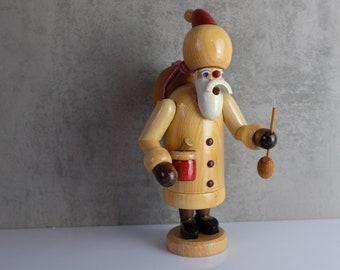 Smoker Smoker Santa ClausWood Figure Figure Erzgebirge GDR 9