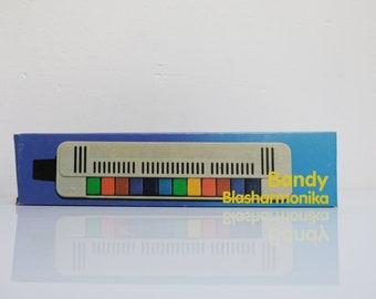 Bandy Blasharmonika GDR Unused Original Klingenthal 12 Tones Kids