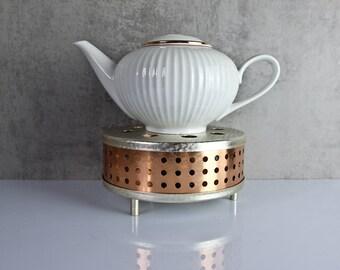 Stövchen tea coffee 60s GDR aluminum