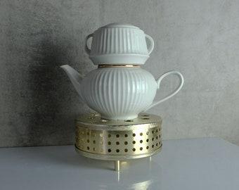 Stövchen Tee Kaffee 60er Jahre GDR 00