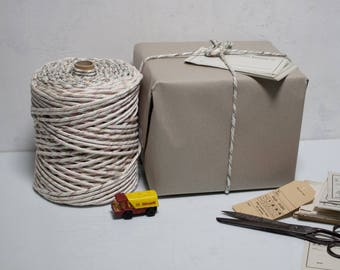 2kg Cord Knitting DDR Gdr Wrap Twine Binder Bright Multicolor 2