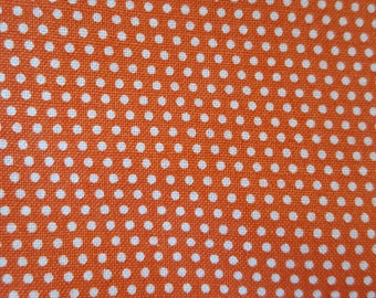 Orange with White Dots Pack n' Play Sheet
