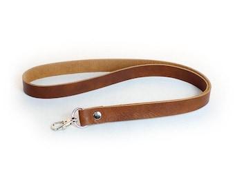 Leather Lanyard - Brown or Black