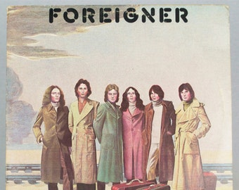 Foreigner - Self Titled Album Atlantic Records 1977 Original Vintage Vinyl Record LP