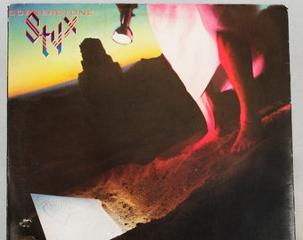 Styx - Cornerstone Album A&M Records 1979 Original Vintage Vinyl Record LP