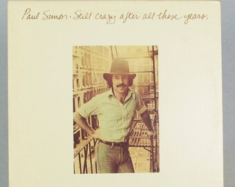 Paul Simon - Still Crazy After All These Years Album Columbia Records 1975 Original Vintage Vinyl Record LP