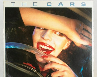 The Cars - Self Titled Album Elektra Asylum Records 1978 Original Vintage Vinyl Record LP