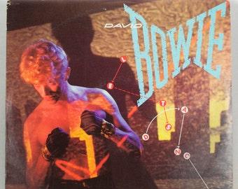 David Bowie - Let's Dance Album Columbia Records 1983 Original Vintage Vinyl Record LP