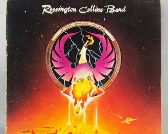 Rossington Collins Band - Anytime, Anyplace, Anywhere Album MCA Records 1980 Original Vintage Vinyl Rock Record LP