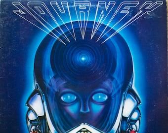 Journey Frontiers Original 1983 Classic Rock 80s Columbia Records Vintage Vinyl Record Album LP